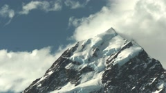 mt cook summit - stock footage