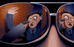Robbery Stock Illustration
