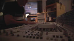 Recording Studio 2 Stock Footage