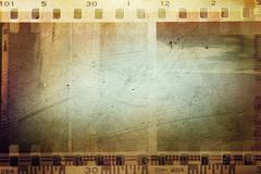 Film negative frames, film strips border Stock Illustration