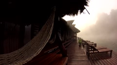 Fog on the River Kwai Stock Footage