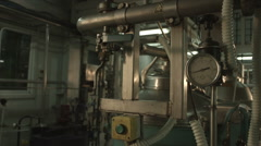 Stock Video Footage of production apparatus, pipes, steel