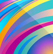 vector background abstract aura design - stock illustration