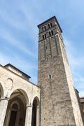 Rieti (italy), cathedral Stock Photos