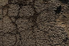 close up photo of a parched land - stock photo