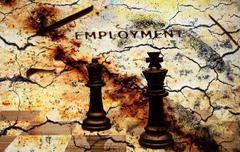 Employment concept Stock Illustration