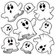 Ghost topic image - illustration. Stock Illustration