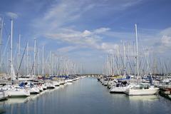 Port of Saint Denis d'Oleron in France Stock Photos