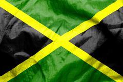 Jamaican flag Stock Illustration