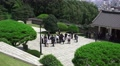 News Media Reporters Digniaties Politians Gather At Chungnyeolsa Shrine 4K Footage