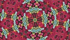Kaleidoscope background effect Stock Footage