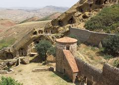 monastery david garedji, kakheti, georgia, europe - stock photo