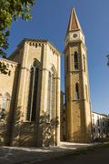 church of santa maria, arezzo, tuscany, italy - stock photo