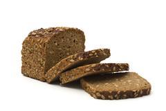 Stock Photo of whole grain brown bread