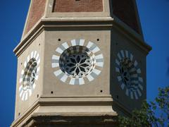 arezzo - the gothic cathedral of saint donatus - stock photo