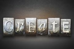 Create letterpress Stock Photos