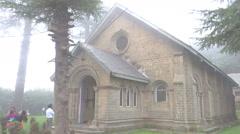 St. John's Church, Building, Dalhousie Stock Footage