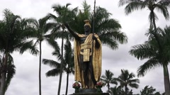 Kamehameha, The Great , zoom in Stock Footage