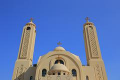 Coptic church Stock Photos