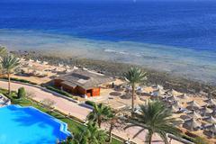 Stock Photo of beach in egypt