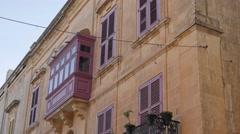 Mdina Malta Stock Footage
