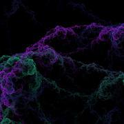 Colorful bacteria - stock illustration
