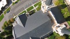 St. Aloysius Church Stock Footage