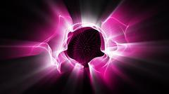 Radial Light Effect - stock illustration
