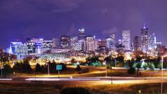 Denver Timelapse Stock Footage