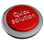 Quick solution Stock Illustration