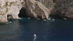 BlueGrotto Malta Stock Footage