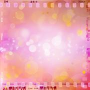 Film negative frames, film strips border Kuvituskuvat