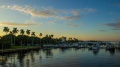 Palm Beach Island Marina West Palm Beach Stock Footage