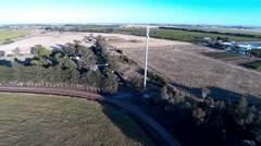 National Broadband Network Fixed Wireless Tower Stanbridge 2 Stock Footage