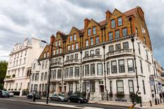 London -august 15:  the famous chelsea district on august 15, 2014 in london. Stock Photos