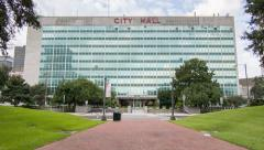 New Orleans LA City Hall Stock Footage