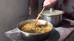 Turkish Cuisine, Food Stock Footage