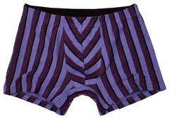 Male underwear isolated on white background - stock photo