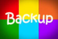 backup concept - stock illustration