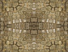 stone ornament pattern - stock illustration