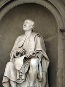 Statue of the famous architect bruneleschi - florence. Stock Photos