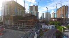 Brickell City Center shot in 4k Stock Footage