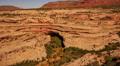 Natural Bridges 06 Zoom In Kachina Bridge Utah USA Footage