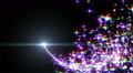 Particles Glitter 3d W4 4k Footage