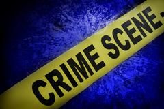 Crime scene Stock Illustration