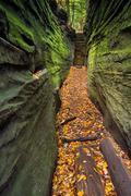 Narrow Crevice - stock photo
