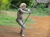 Stock Photo of mudman papua