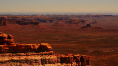 Valley of the God 03 Tilt Up Utah USA Stock Footage