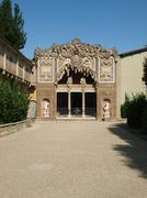 florence - grotto by buontalenti in boboli gardens - stock photo