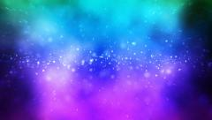 Abstract Space Flying lights Loopable Background Stock Footage